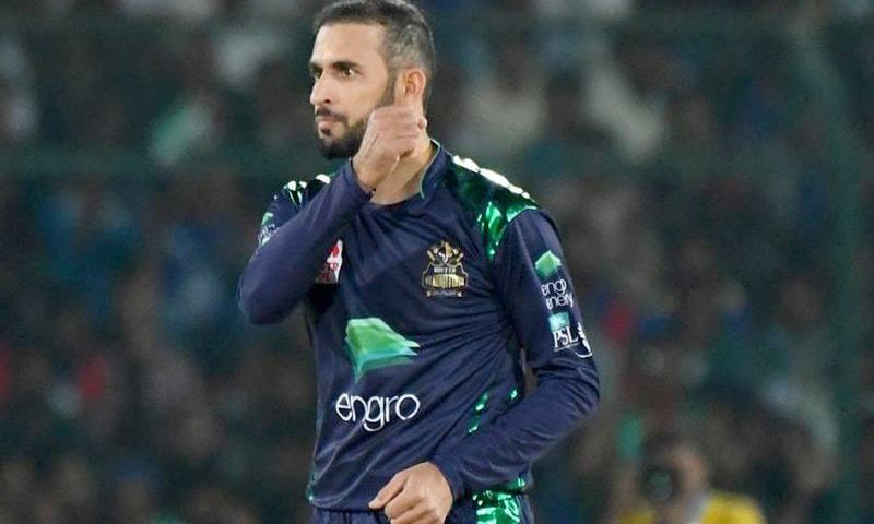Fawad Ahmed struck for the Gladiators and claimed the first wicket (Munro). —PSL