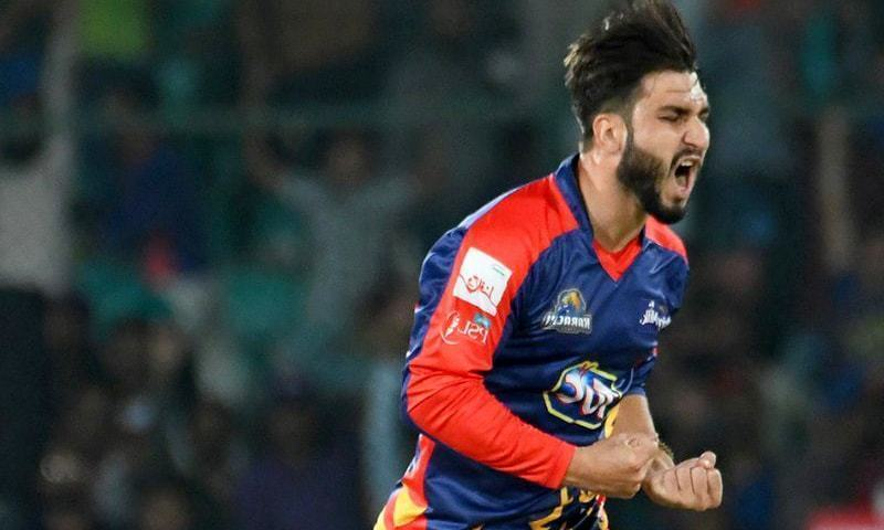 Shinwari snatched victory from Quetta's jaws in the game on Sunday. — PSL