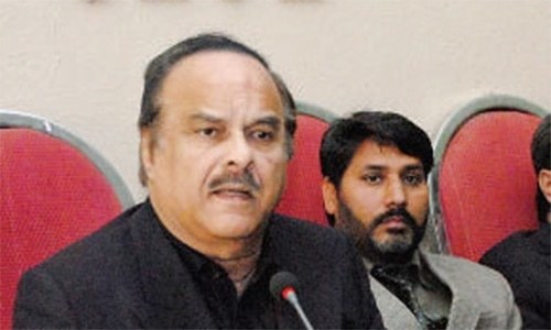"""Naeemul Haque says the initiative, titled 'Ehsaas', is for the """"poor of the country"""". — Online/File"""