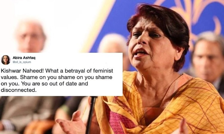 "The feminist poet said activists should keep their culture in mind so as to not go astray like ""jihadis""..."