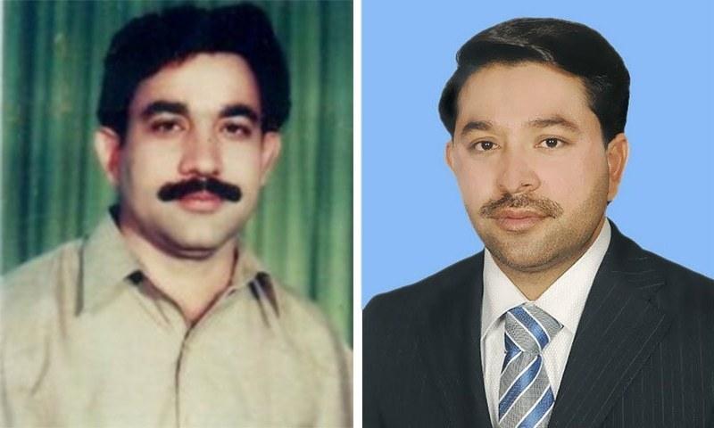 Saiful Malook Khokhar (L) and Afzal Khokhar (R). — DawnNewsTV/File