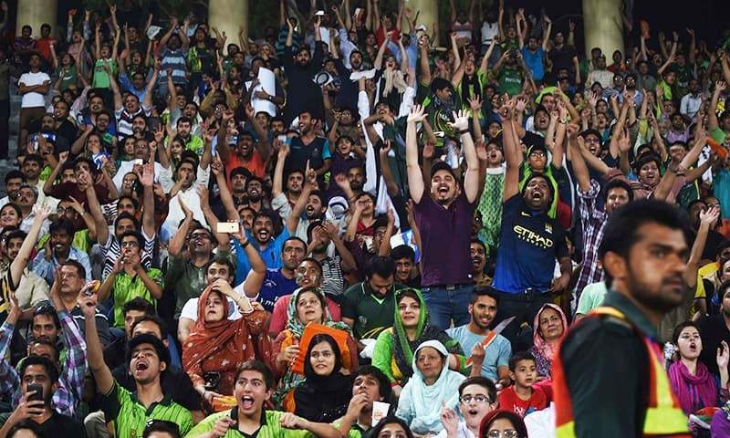 The DG ISPR has advised citizens against making political statements through their clothes at the PSL final. — File