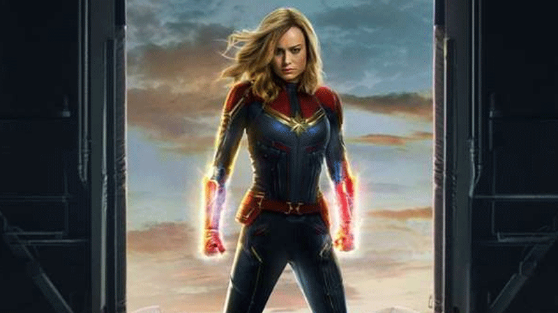 It features Captain Marvel finally meeting the mighty Avengers.