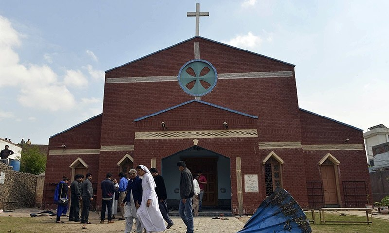 Fifteen people were killed and more than 70 injured when two Taliban suicide bombers had attacked churches in Lahore in March 2015. — AFP/File