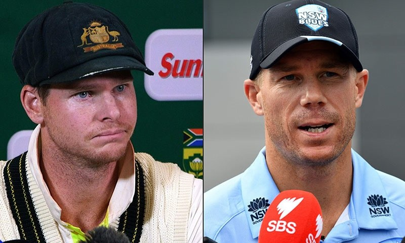 """Steve Smith and David Warner have been welcomed back into the Australian fold with """"hugs and cuddles"""" at a team meet-up in Dubai, and said it was like they'd never left. — AFP"""