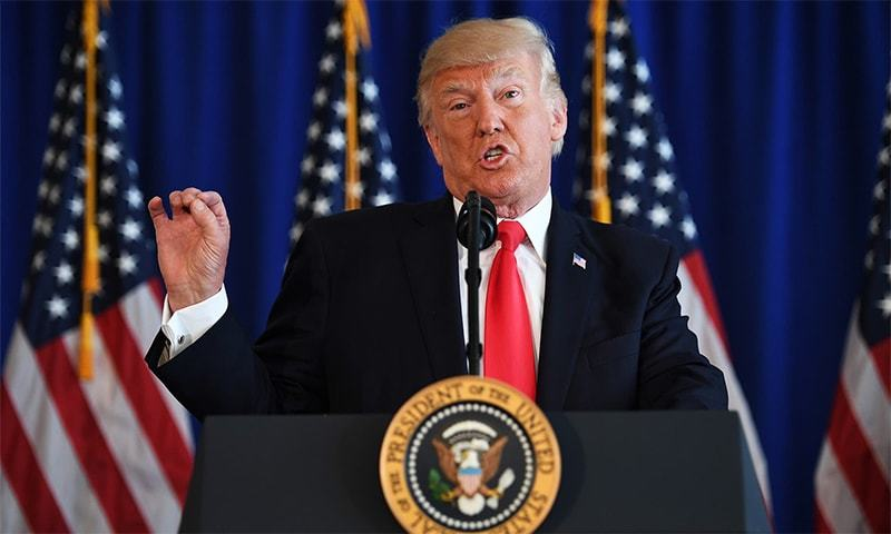 Violence against Muslims in New Zealand has put a spotlight on US President Donald Trump's rhetoric about Islam. — AFP/File