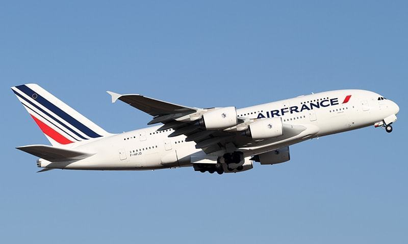 An Air France plane takes off. — Creative Commons/File