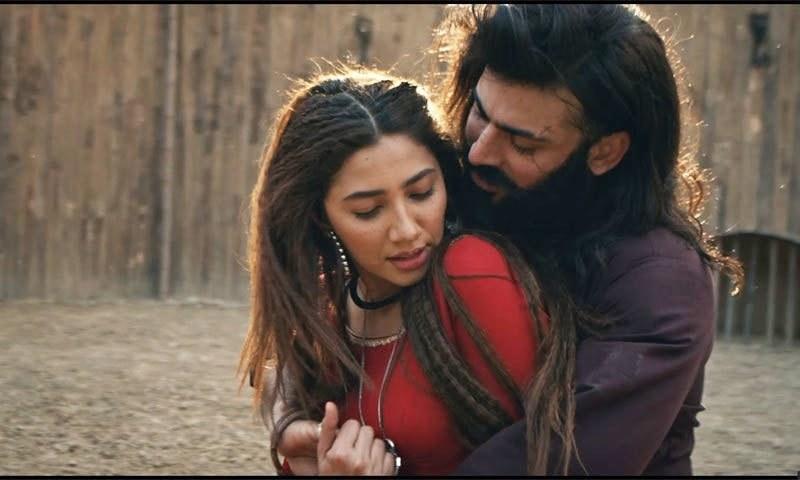 فواد خان اور ماہرہ خان نے فلم میں مرکزی کردار ادا کیے ہیں—اسکرین شاٹ
