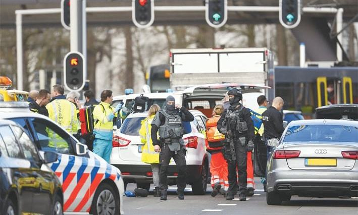 Ambassador Shujjat Rathore in The Hague confirms that all Pakistanis in Netherlands are safe after the attack. — AFP/File