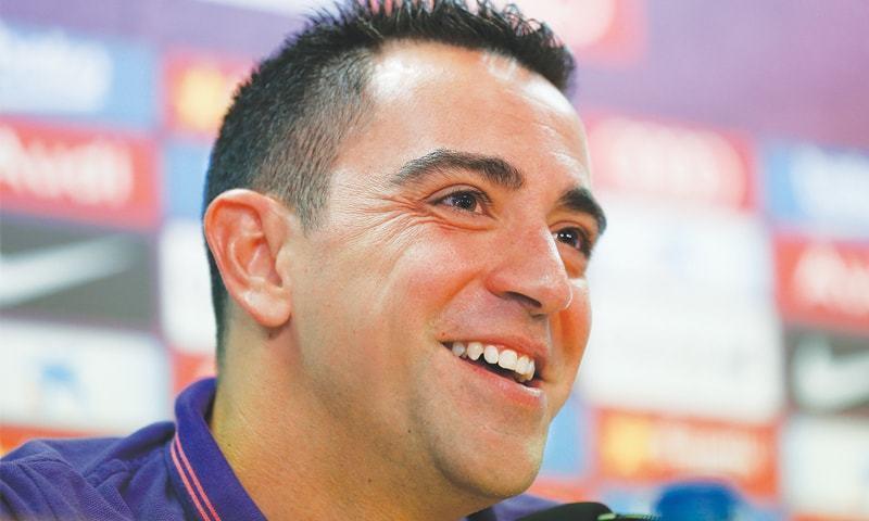 Former Spain midfielder Xavi Hernandez. — AP