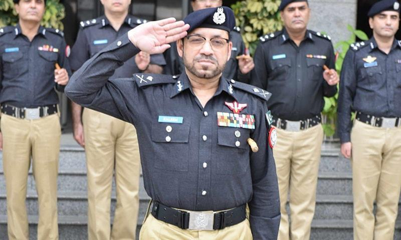 Inspector General of Police Dr Syed Kaleem Imam is seen in this photo. — File photo courtesy of Sindh police