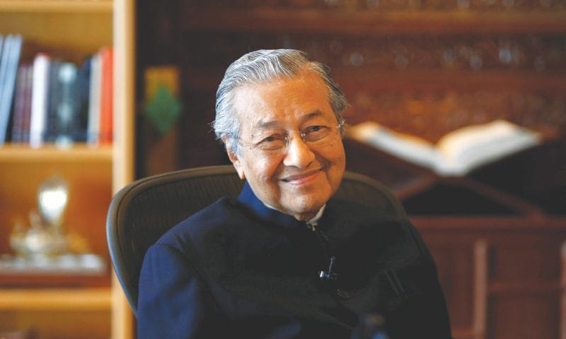 Malaysian Premier Mahathir Mohamad will be the guest of honour at the Pakistan Day parade on March 23. — Reuters