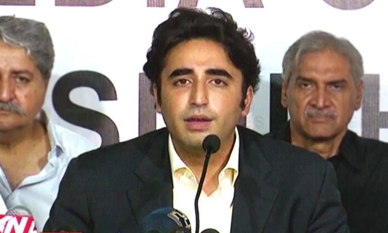 Bilawal Bhutto-Zardari at a press conference last week had said that he does not trust PTI to crack down on banned organisations. — Online/File