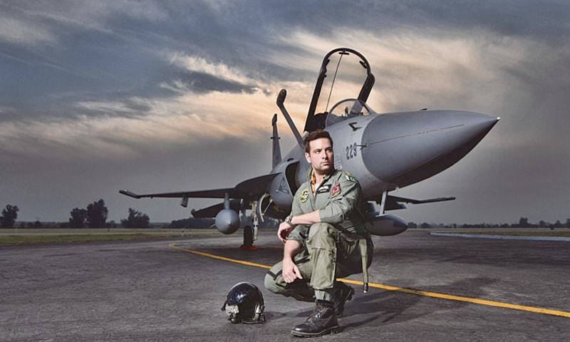 Mikaal Zulfiqar plays Flight Lieutenant Haris in Sherdil   ARY Films