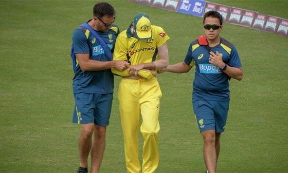 """Unfortunately it's a dislocated shoulder for Jhye Richardson,"" Cricket Australia tweeted. — Photo: Cricket Australia"