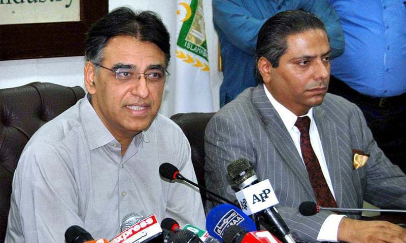 Finance Minister Asad Umar is spot on in recognising the importance of regional trade. — APP/File