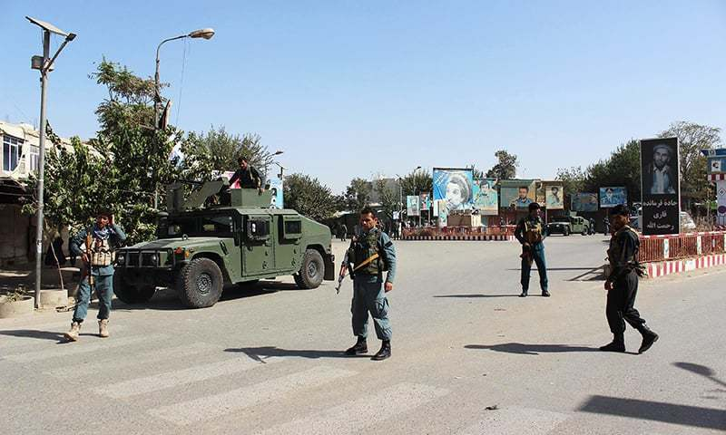 Attack on policemen highlights fragility of Afghanistan's security situation. — AFP/File