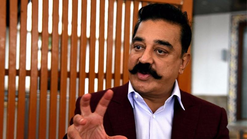 The path from celebrity to politics is well-trodden in India and Haasan is one of many stars on the hustings