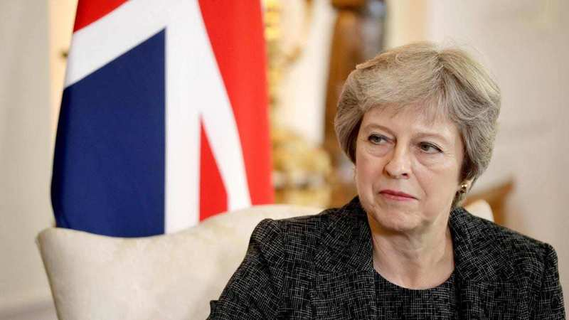 UK's May defends talks with Labour: Brexit