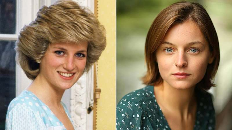 British newcomer Emma Corrin will play the ill-fated future wife of Prince Charles in the drama series.
