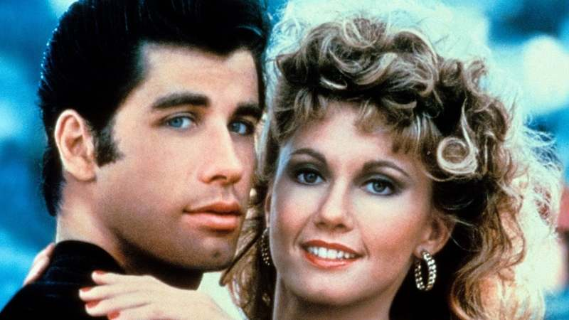 The 1978 musical starred John Travolta (Danny) and Olivia Newton-John (Sandy) as high school teens from opposite worlds