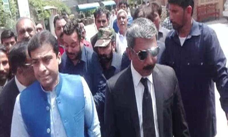 The Lahore High Court (LHC) on Wednesday granted Punjab Assembly Opposition Leader Hamza Shahbaz pre-arrest bail till April 17 in the Ramzan Sugar Mills and the Saaf Pani Company cases. — DawnNewsTV