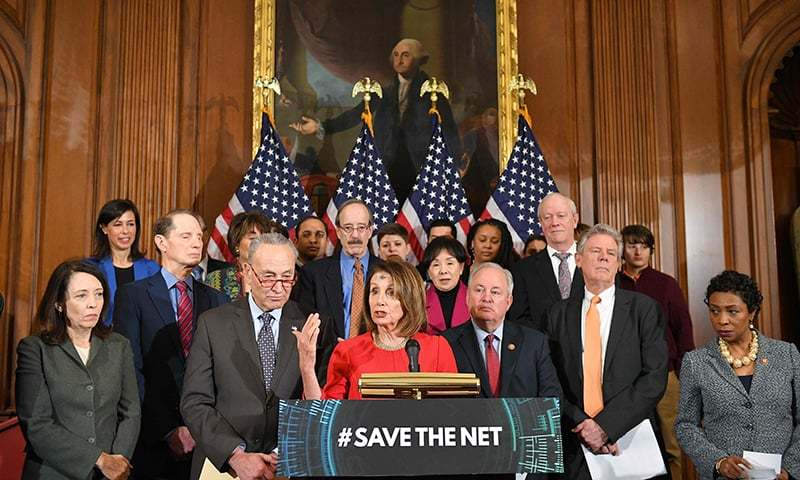 House passes bill to restore Obama-era 'net neutrality' rules