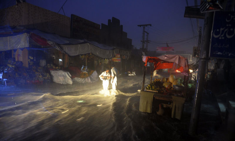 The Balochistan cabinet has constituted a committee to estimate the damage caused by flooding, heavy rain and snowfall, which affected as many as 20 districts in the province during winter. — AFP/File