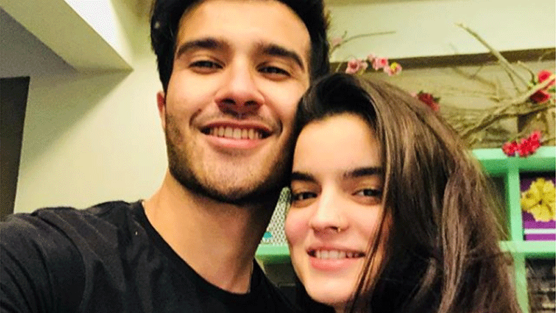 Feroze Khan and wife Alizey are having a baby