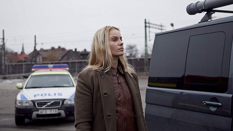 Swedish actor Sofia Helin in The Bridge (Bron/Broen).