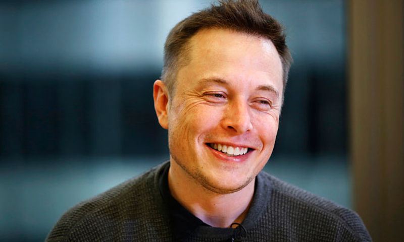 The Falcons have landed Musk wrote on Twitter. — AFP/File