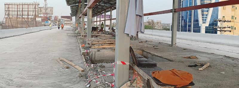 Portions of the Peshawar BRT accurately capture its current state: incomplete and in shambles | Iftikhar Firdous