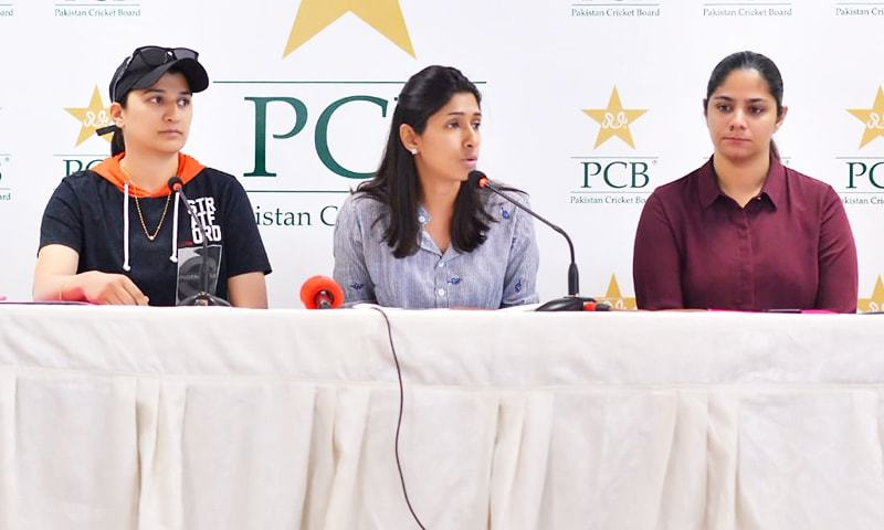 The Urooj Mumtaz-headed selection committee has made just one change to the 14-member Pakistan squad. — Photo courtesy of PCB