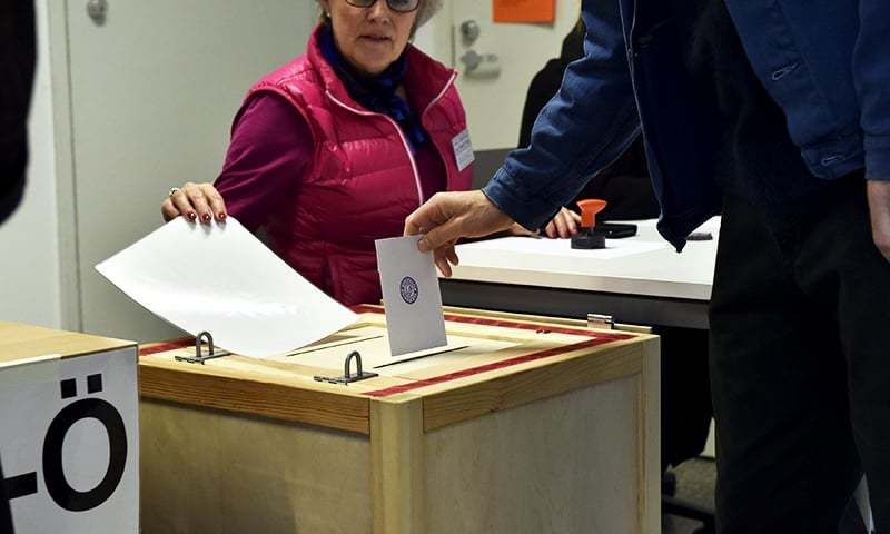 Ruling parties slide in tight Finland vote