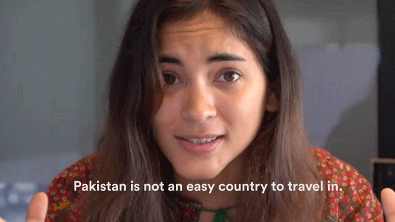 American blogger Alex Reynolds has criticised her fellow influencers' rose-tinted coverage of Pakistan