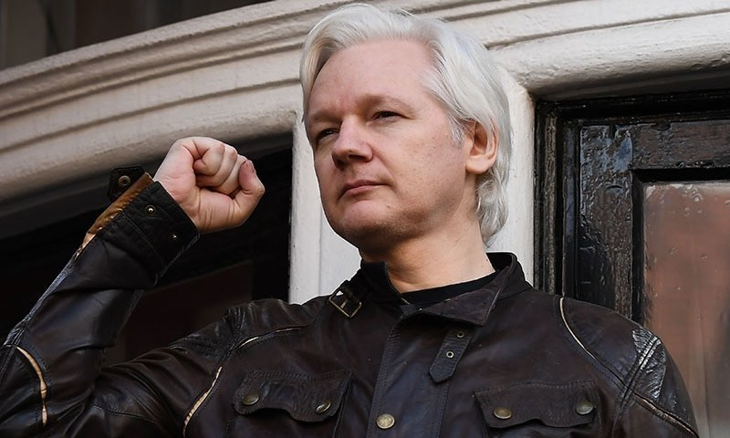 WikiLeaks founder Julian Assange's father on Sunday called on Australia to bring his son home, saying he was shocked to see his son's condition after his arrest in London last week. — AFP/File