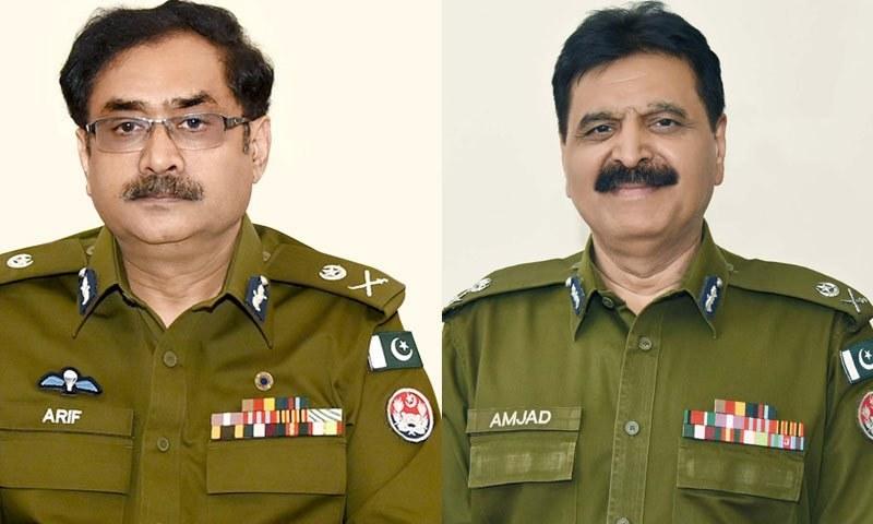 امجد جاوید سلیمی کو اکتوبر 2018 میں آئی جی تعینات کیا گیا تھا—فوٹو:پنجاب پولیس