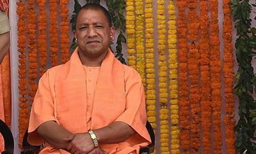 "India's election commission said Adityanath, chief minister of Uttar Pradesh, had spoken about a ""green virus"" in a speech last week in reference to Muslim voters who he said were being wooed by opposition parties. ─ Reuters/File"