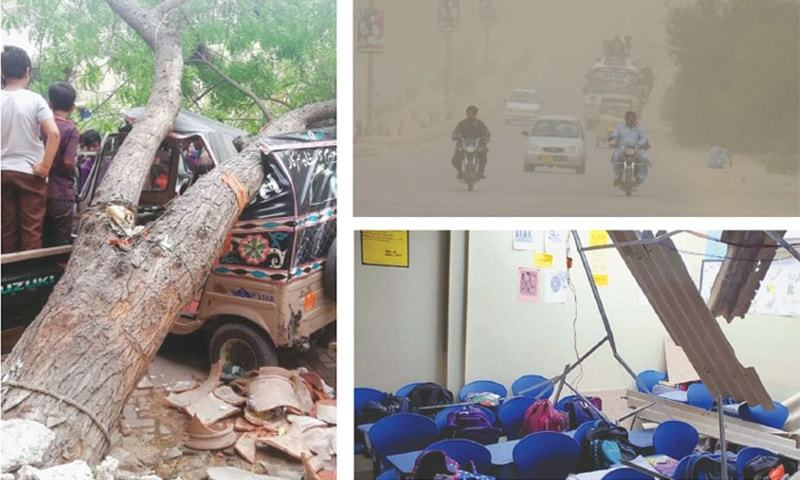 25 killed as rain, dust storm lash Pakistan (Credit goes to