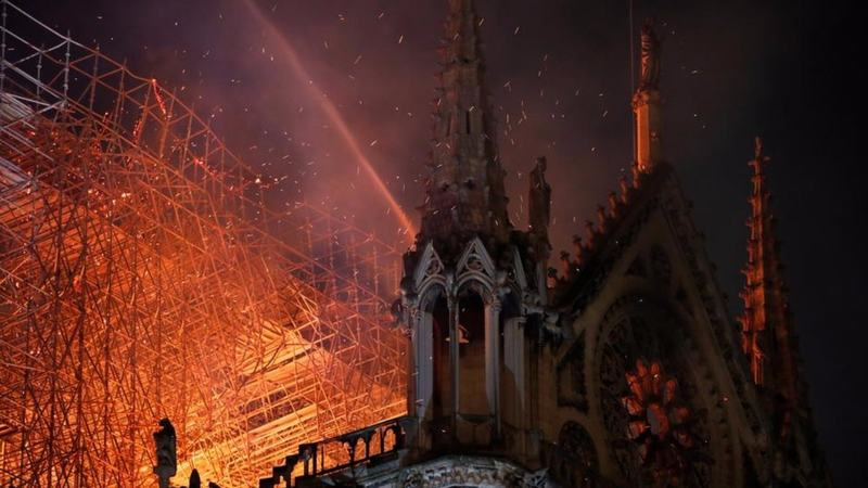 After a fire severely damaged the 850-year-old cathedral on Monday, the men behind Gucci and LV are stepping up