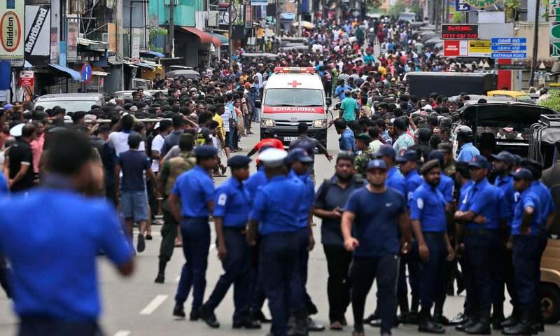 سری لنکا کے چرچ اور ہوٹلز میں بم دھماکے، 290 افراد ہلاک