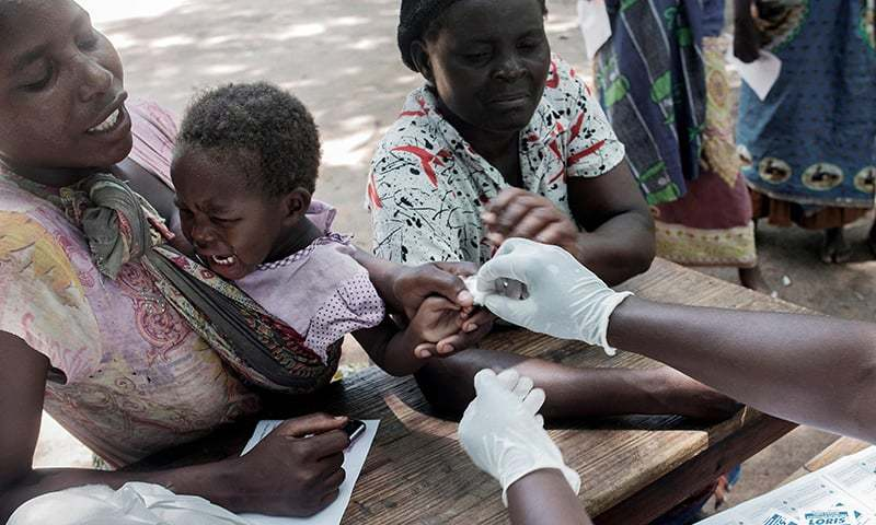 Worlds first malaria vaccine launched in Africa