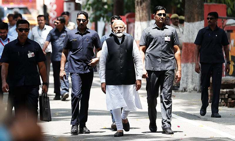 Modi puts SP-BSP on notice with show of strength in Varanasi