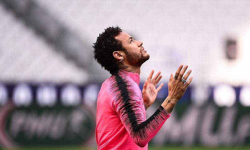 Neymar issued three-match ban by UEFA for outburst