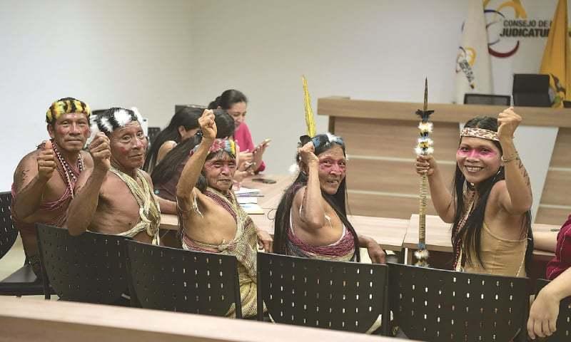 ניצחון באמזונס – שבט באקוודור ניצח בעתירה משפטית את תאגידי הנפט