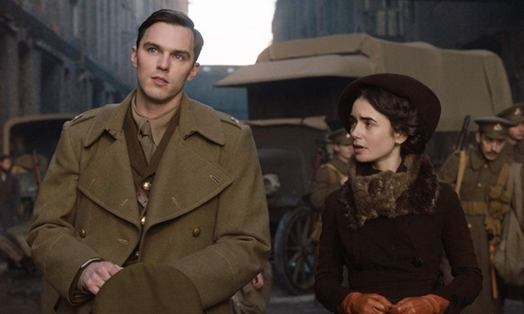 Nicholas Hoult and Lily Collins star in the upcoming flick, which begins its cinema roll-out from May 3.