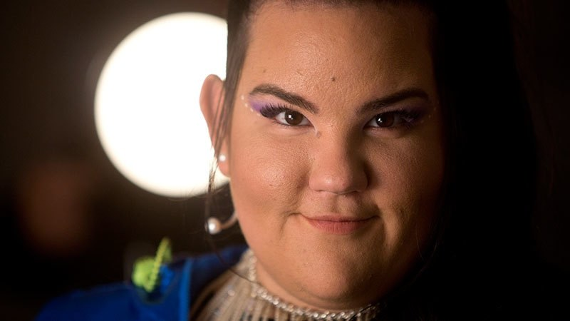 In this Jan 29, 2019, file photo, Israeli Singer Netta Barzilai, who won the 2018 Eurovision song contest, poses for a photo during an interview with the Associated Press in Tel Aviv. — AP