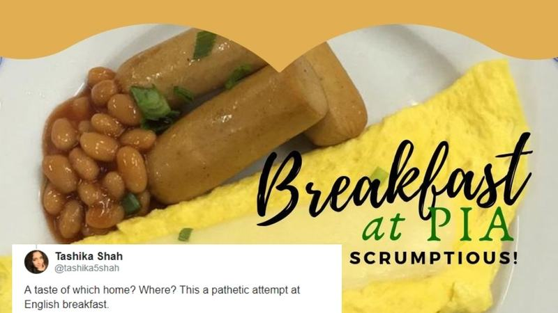 People think PIA's breakfast isn't Pakistani enough - Comment - Images