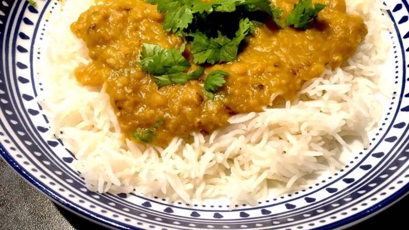 Finding home in a plate of daal chawal