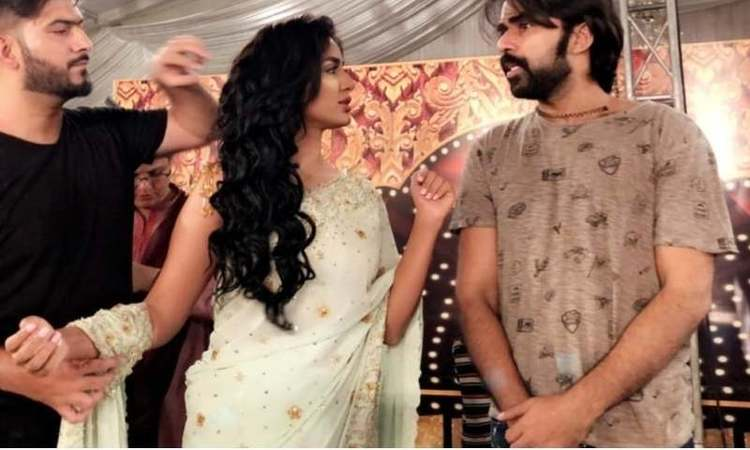 Mathira rehearses for star-studded dance in new movie Chah Ja Ray